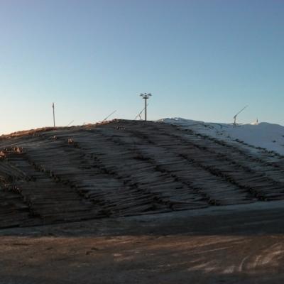 Puunsiirto, Pi-Ri, Kaipola, lumivarasto